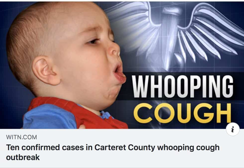 NC Whooping Cough Outbreak, 79 Cases All Fully Vaccinated ...